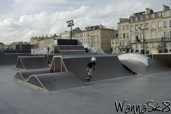 bordeaux skate park skating in aquitaine france world skateparks atlas. Black Bedroom Furniture Sets. Home Design Ideas